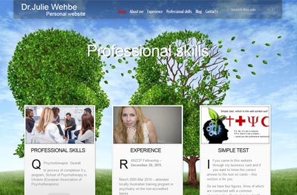 Personal site of Dr. J. Wehbe